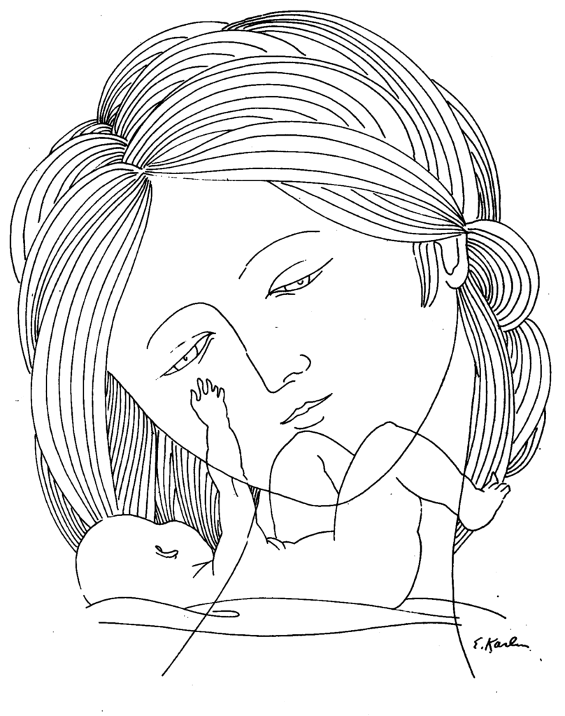 Eugene Karlin - Mother Adoring Baby